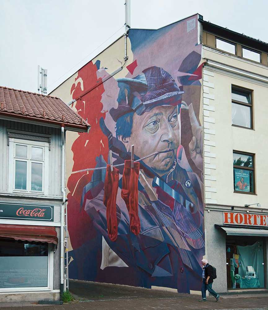Telmo Miel new wall in Norway