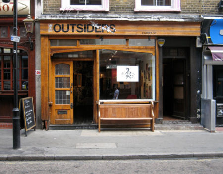THE OUTSIDERS GALLERY (LONDON)