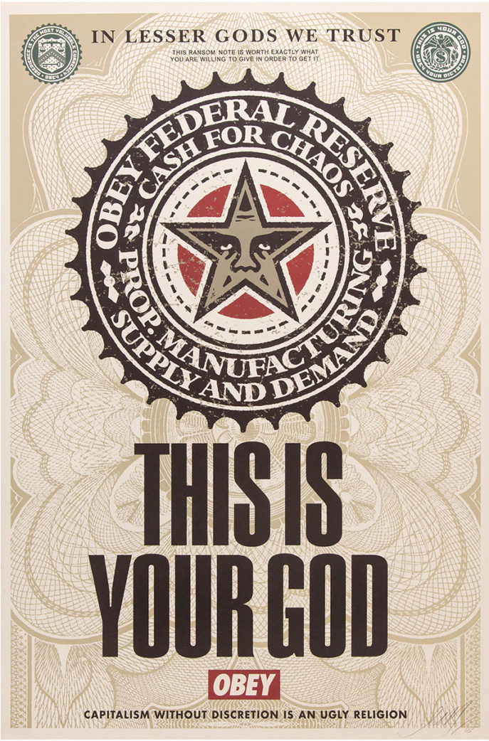 Shepard Fairey - This is Your God