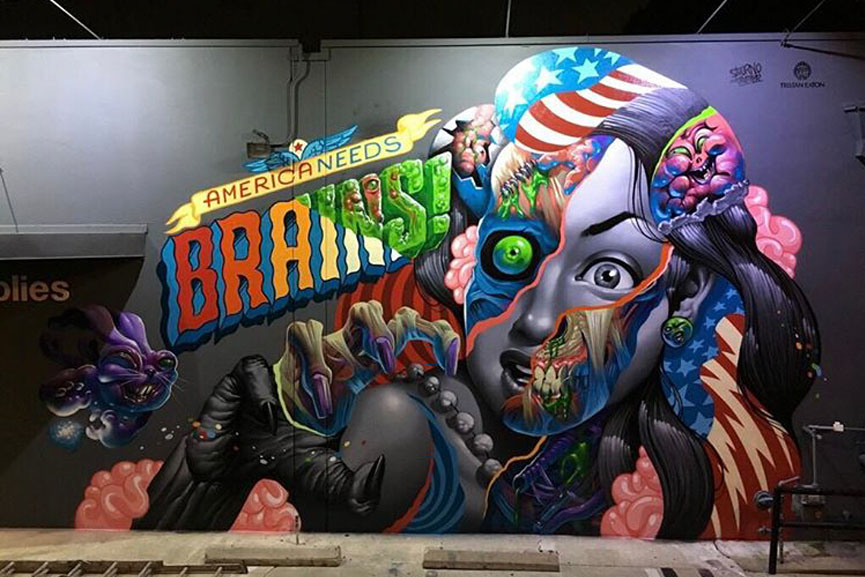 mural by tristan eaton and saturno