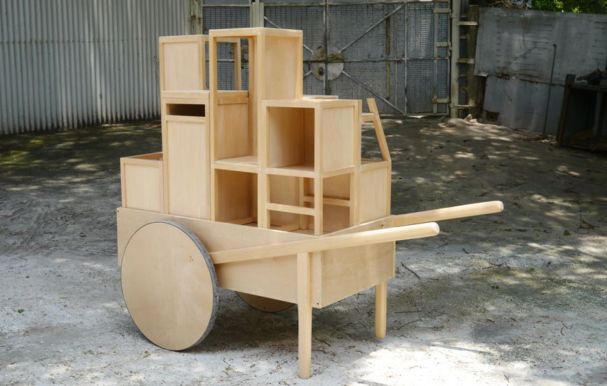 trolley made by MUDwork