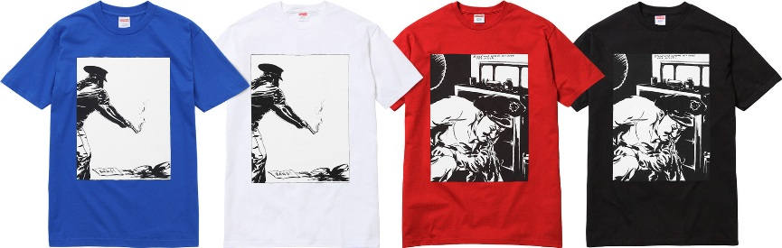 Raymond Pettibon for Supreme