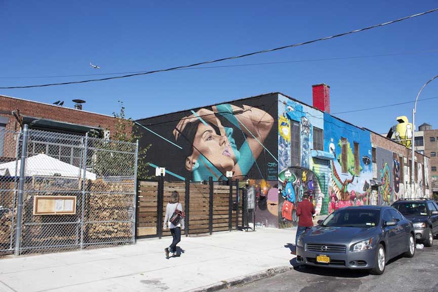 James Bullough, mural done for The Bushwick Collective