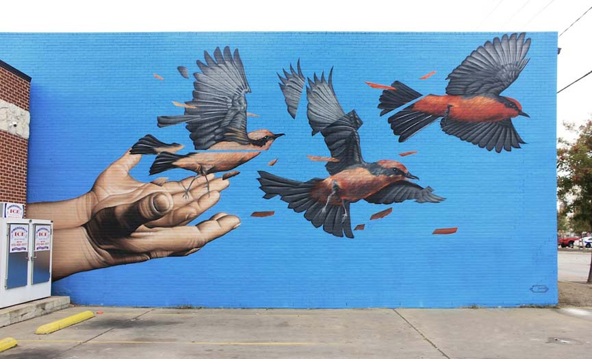 "James Bullough for the ""Handle with Care Project"""
