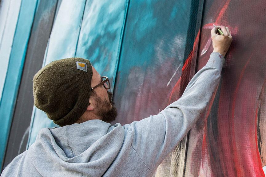 New mural by Vesod