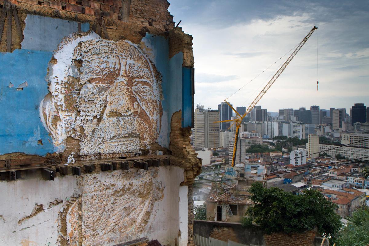 Vhils, Brazil