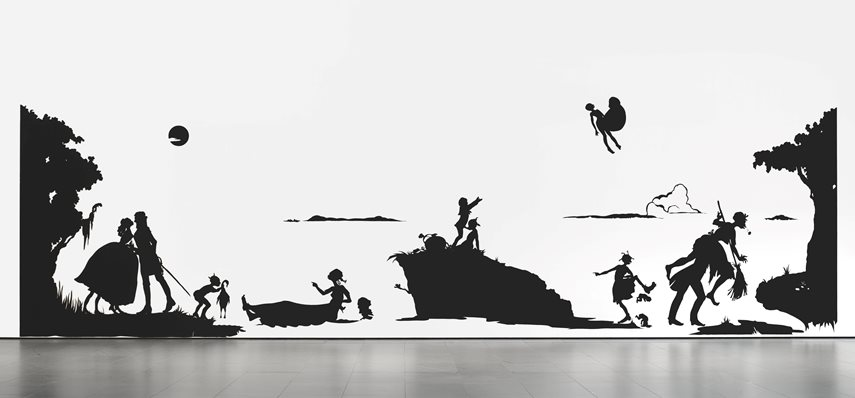Paper, overall: 13 x 50′ (396.2 x 1524 cm). The Museum of Modern Art, New York. Gift of The Speyer Family Foundation in honor of Marie-Josée Kravis, 2007 © 2015 Kara Walker