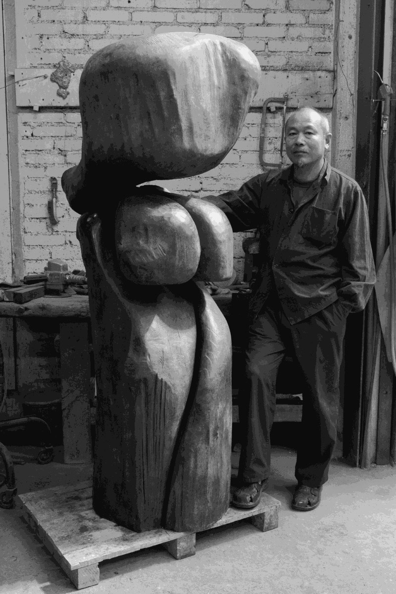 Wang Keping's Sculpture