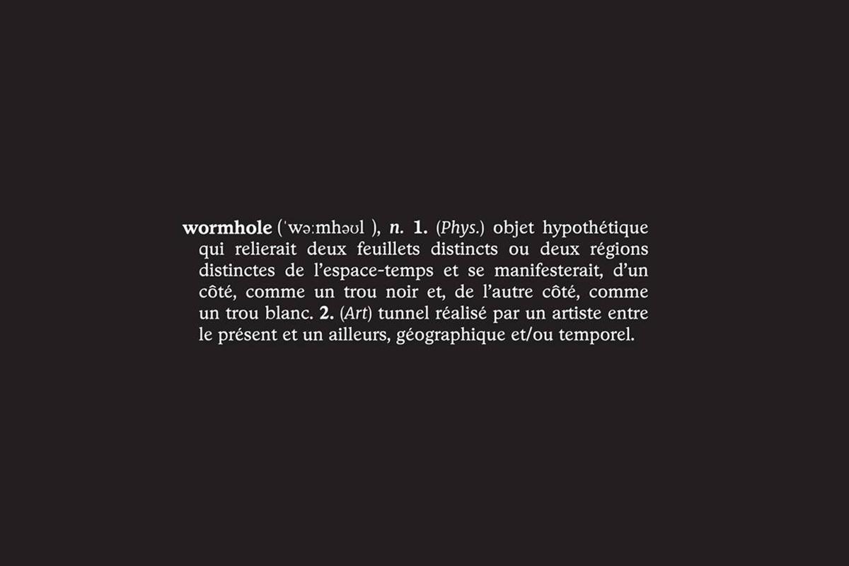 Through the Wormhole Exhibition in Paris