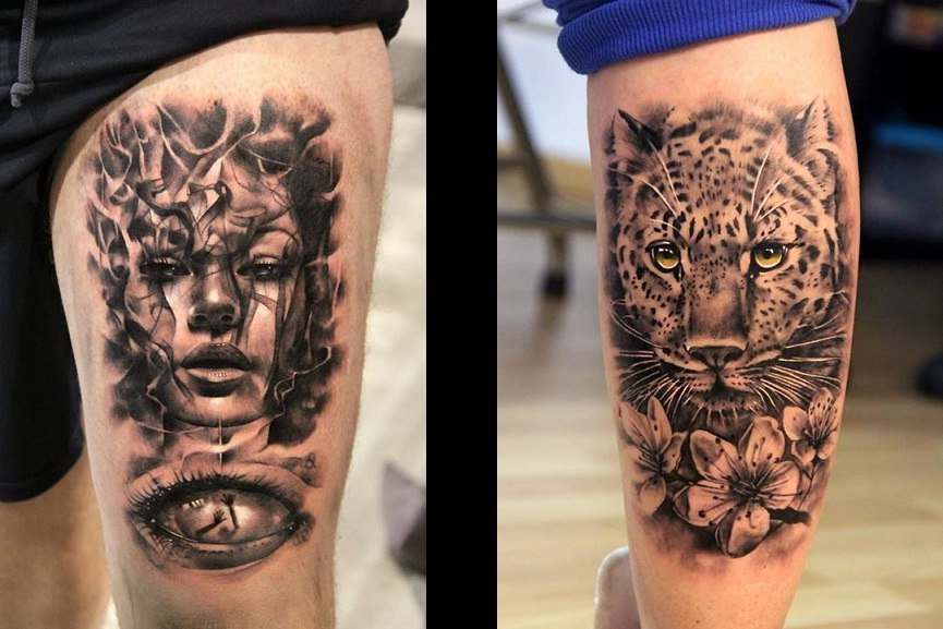 urban artists tattoo
